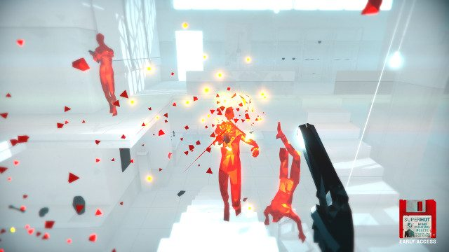 SUPERHOT PS4 Expansion Mind Control Delete rated gunfire