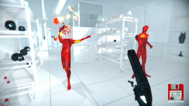 SUPERHOT PS4 Expansion Mind Control Delete rated headshot