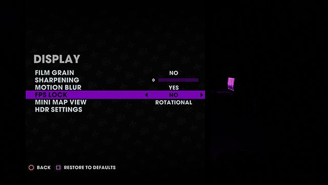 How to unlock Saints Row 3 Remastered frame rate