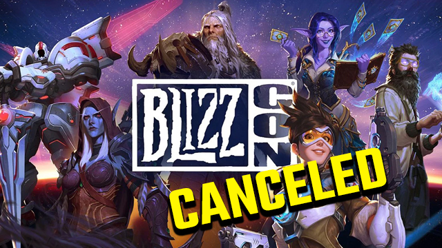 blizzcon 2020 canceled