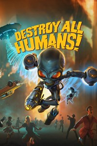 Box art - Destroy All Humans! Remake