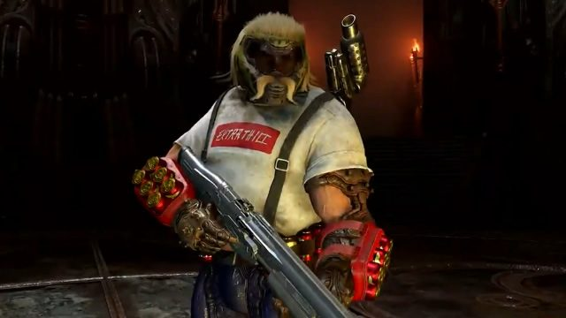 how to get mullet slayer skin in doom eternal