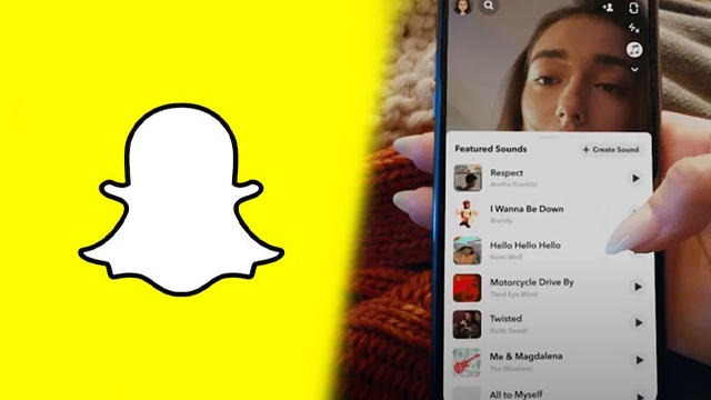 how to add music to snapchat pictures snaps 2021