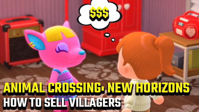 how to sell villagers in Animal Crossing: New Horizons