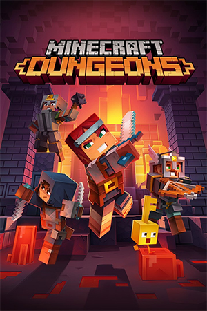 Box art - Minecraft Dungeons