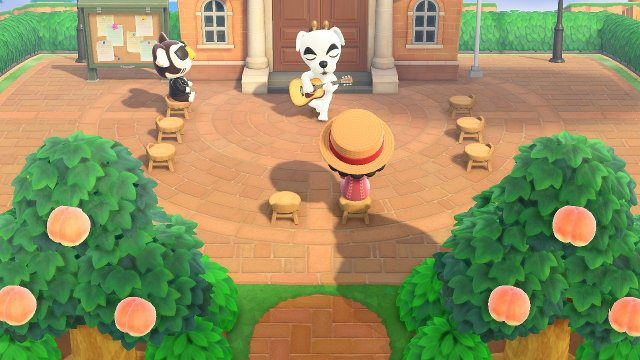 Why is there KK Slider on Friday in Animal Crossing? town square
