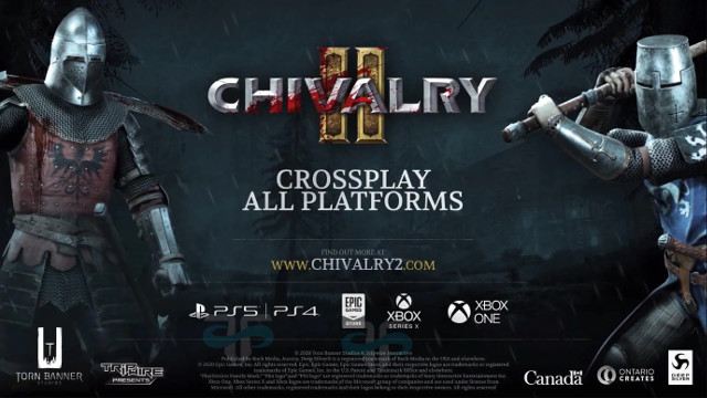 Chivalry 2 Cross-Play PS5 Xbox Series X banner