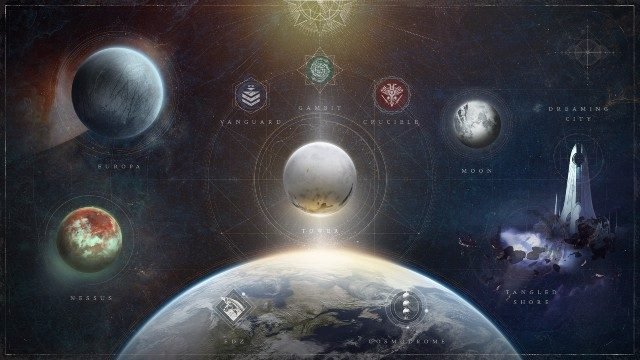 Destiny 2 Content Vault Map Beyond Light