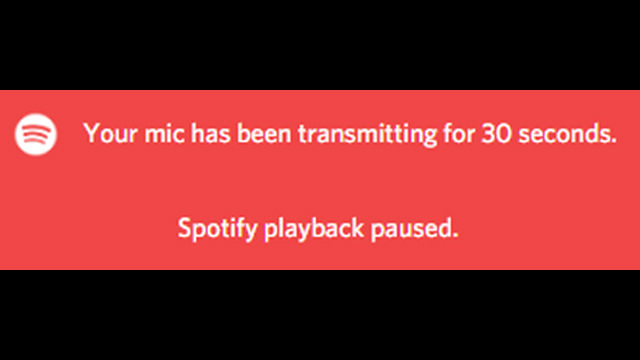 Discord 'Spotify Playback Paused'
