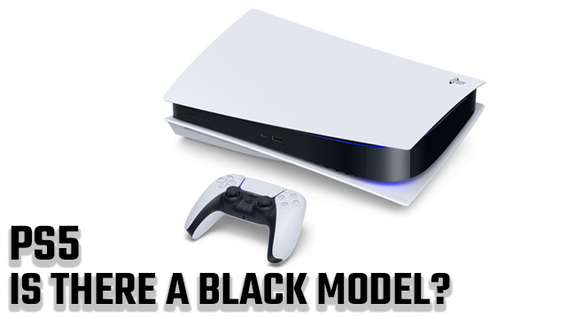 Is there a black PS5?