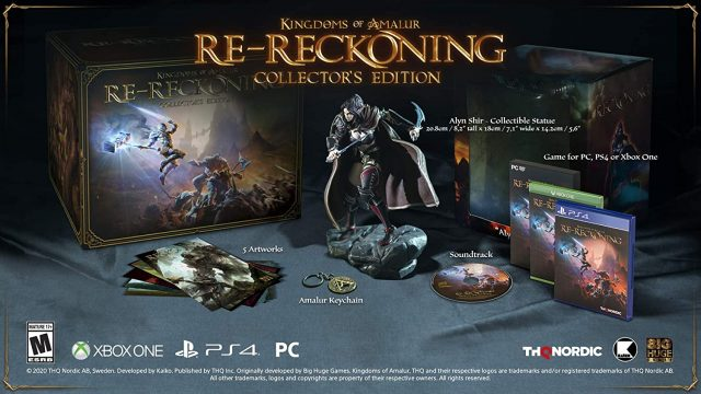Kingdoms of Amalur: Re-Reckoning Pre-Order guide Collector's edition