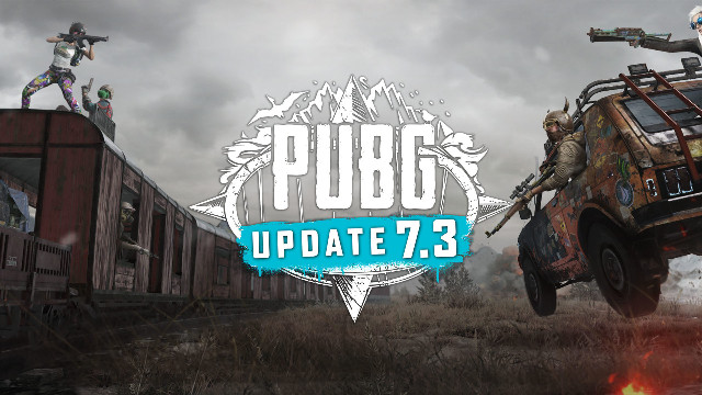 PUBG 7.3 update patch notes logo