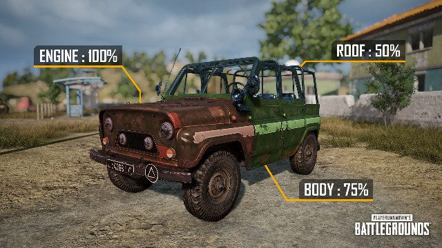 PUBG 7.3 update patch notes vehicle damage