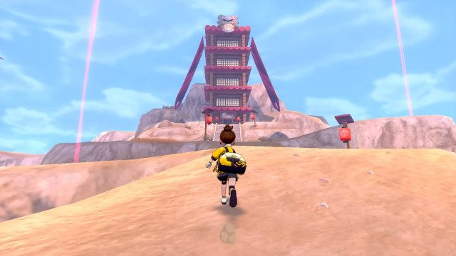 Pokemon Sword and Shield DLC release date temple