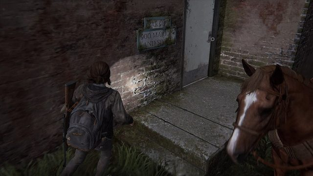 The Last of Us 2 Barko's Side Door
