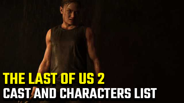 The Last of Us 2 Cast