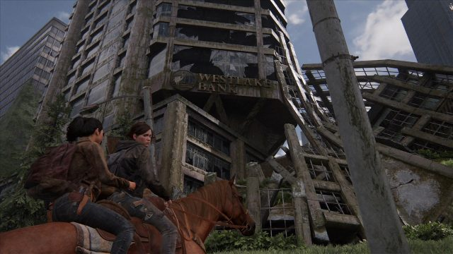 The Last of Us 2 Downtown Seattle Locations Bank