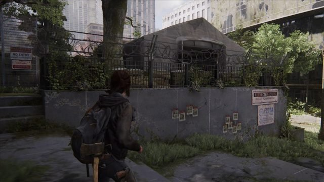 The Last of Us 2 Downtown Seattle Locations FEDRA Outpost