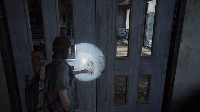 The Last of Us 2 Seattle Convention Center Locked Door