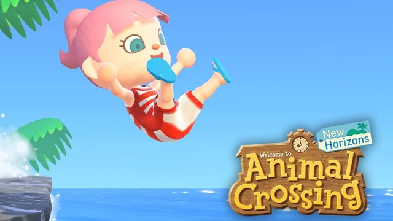 Animal Crossing: New Horizons adds swimming and diving in 'Wave 1 ...
