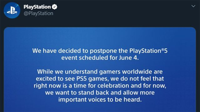The PS5 event delay is the right move in a wrong world