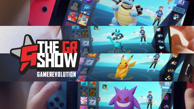 the gr show pokemon unite