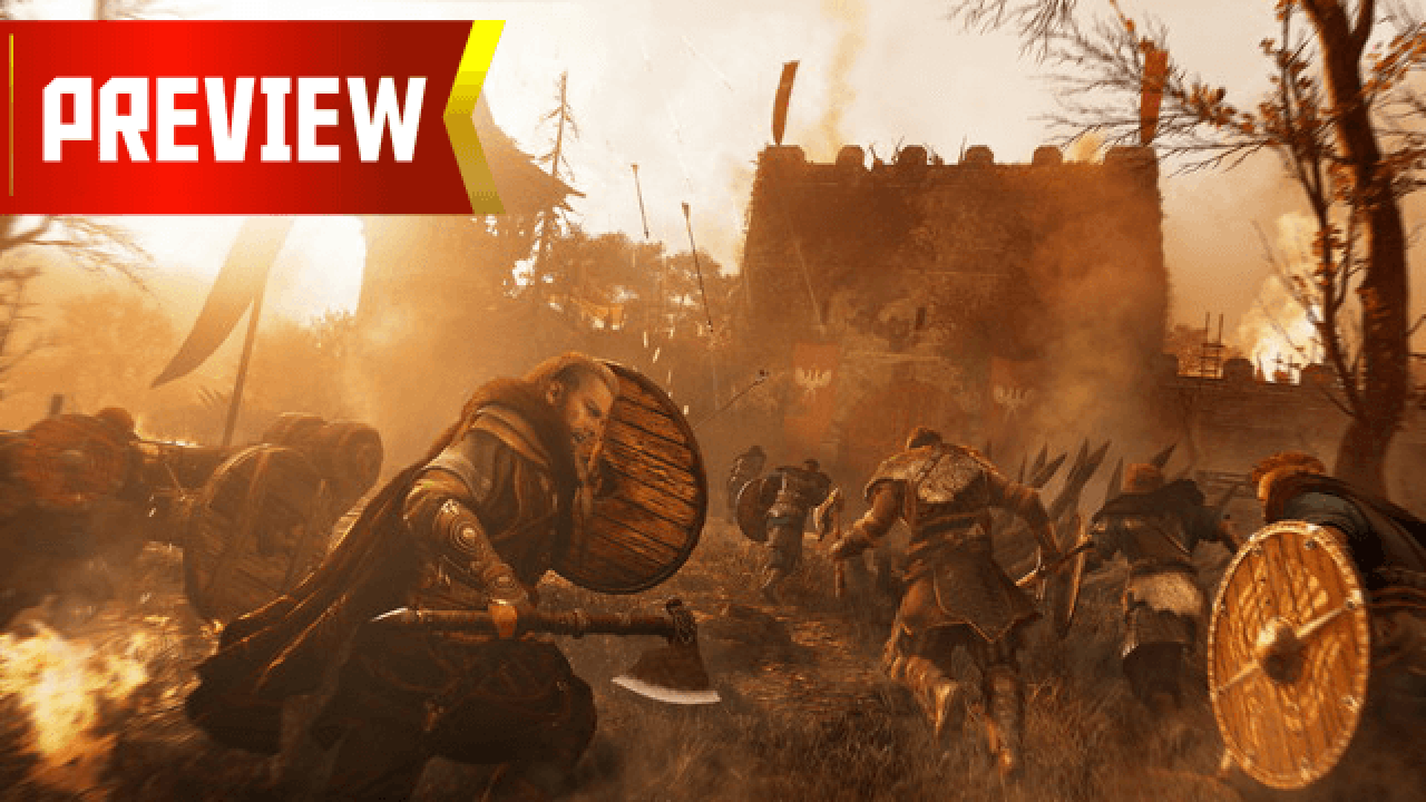 Assassin S Creed Valhalla Preview Vying To Be King Gamerevolution