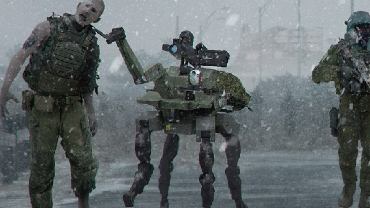 Modern Warfare Zombies Would Have Been Weirder Than Ever According To Concept Art Gamerevolution