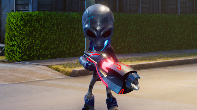 Destroy All Humans | How to kill soldiers with grenades