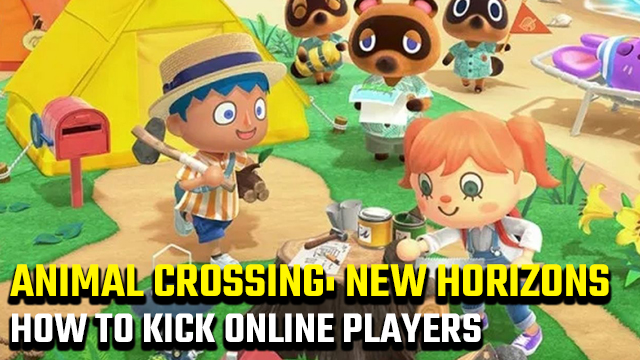 How to kick players off your island in Animal Crossing: New Horizons online