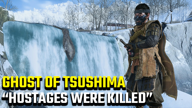 How to stop hostage from dying in Ghost of Tsushima