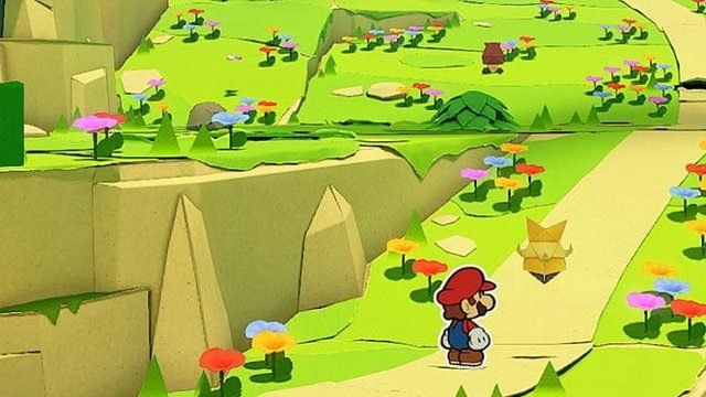 Is Paper Mario: The Origami King multiplayer? road
