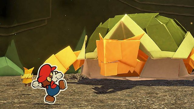 Is Paper Mario: The Origami King multiplayer? turtle boi