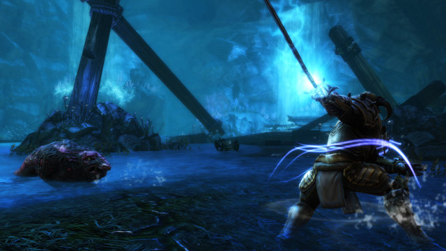Kingdoms of Amalur: Re-Reckoning PC release date blue