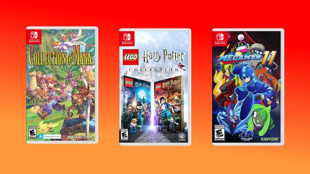 Nintendo eShop sale July 2020 Collection of Mana Harry Potter Mega Man