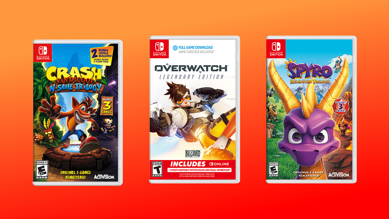 Nintendo eShop sale July 2020 Crash Overwatch Spyro