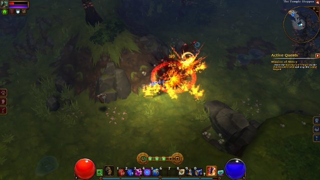 Torchlight 2 free Epic Games Store fire
