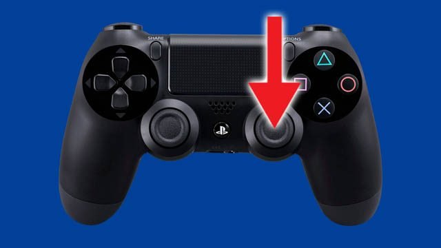 Where is R3 on a PS4 controller?