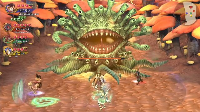 no Final Fantasy Crystal Chronicles: Remastered local co-op boss battle