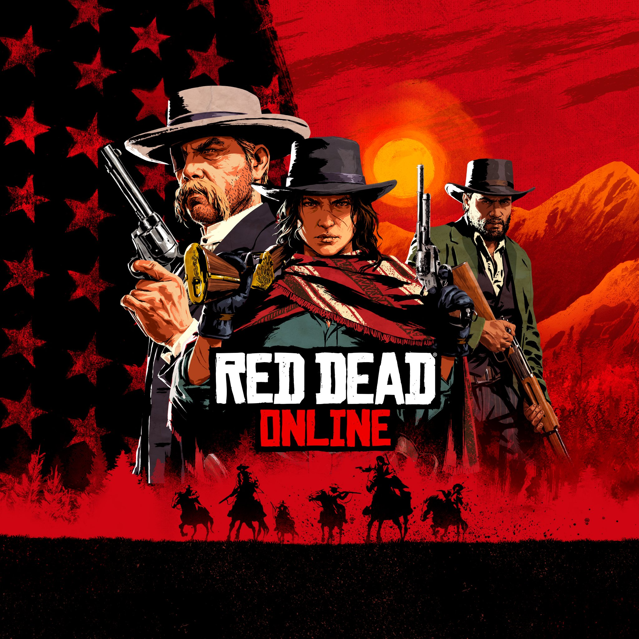 Box art - Red Dead Online