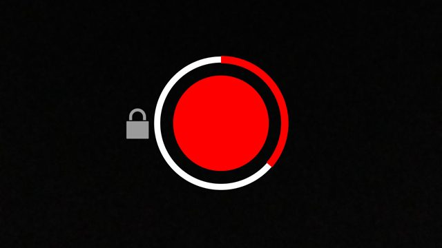 snapchat record without holding button down