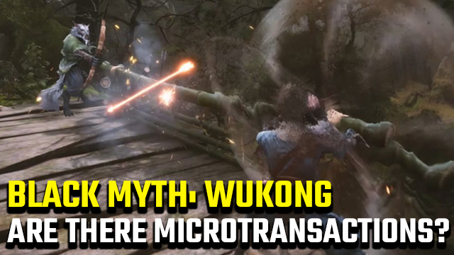 Black Myth: Wukong microtransactions