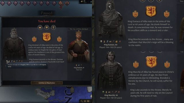 CK3 review heirs
