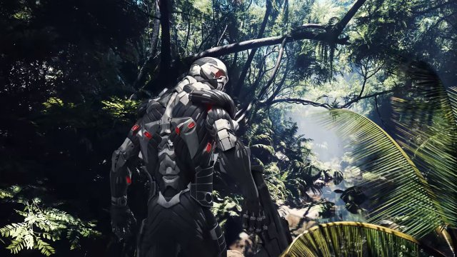 Crysis Remastered Epic Games Store over the shoulder