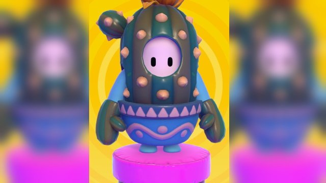 Fall Guys Legendary Prickles outfit