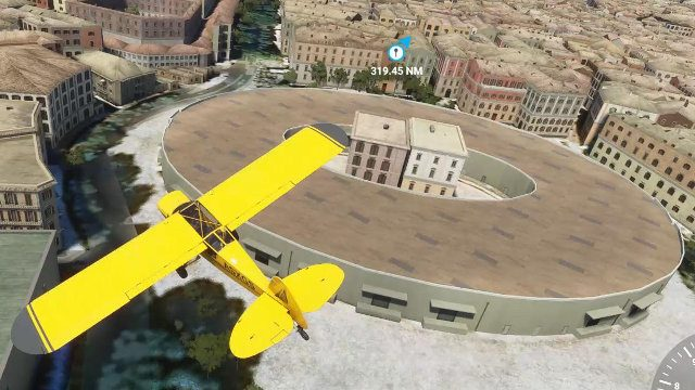 Flight Simulator 2020 landmarks Amphitheatre of Nîmes Reddit