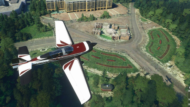 Flight Simulator 2020 landmarks Buckingham Palace Reddit