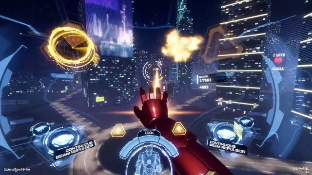 Iron Man VR 1.06 Update Patch Notes Continuous Beam Repulsor