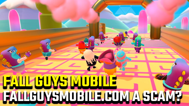 Is fallguysmobile.com legit?