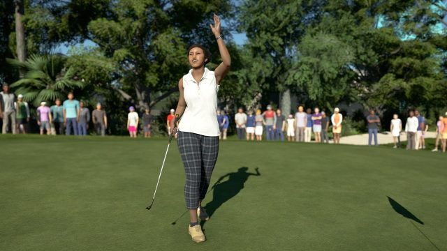 PGA Tour 2K21 how to play as pros